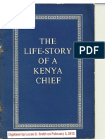 The Life-Story of a Kenya Chief
