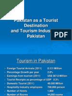 Pakistan as a Tourist Destination & Tourism Industry in Pakistan-2011