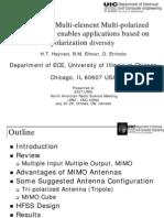 Multi-element multi-polarized antenna