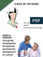 Extended Nurses' Role