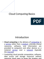 Cloud Computing Basics - Presentation 1