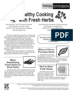 Cooking Fresh Herbs