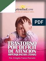 Trastorno por déficit de atención _ hiperquinesia (TDAH)
