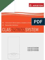 Centrale Termice Pe Gaz Ariston Clas System Carte Tehnica