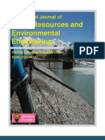 International Journal of Water Resources and Environmental Engineering August 2012 Issue