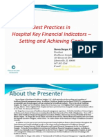 Best Practices in Key Financial Metrics - 2008 -Id