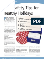 Food Safety Tips for the Holidays (PDF)