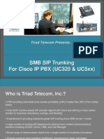 SMB SIP Trunking