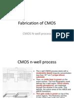 CMOS N-well Process