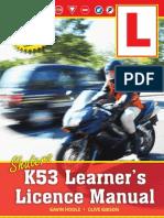 Shuters K53 Learner's Licence Manual (Look Inside)