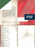 GREIMAS, Algirdas Julien (Org.). Ensaios de Semiótica poética. Trad. Heloysa de Lima Dantas. São Paulo_Cultrix, 1975