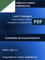Presentacion Seguridad en Routers Inalambricos