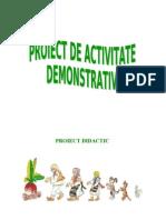 0 Ridichea Uriasa Proiect Didactic Demonstrativa