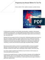 What to Do About Programas de Almacen Before Time Expires.20130216.035008