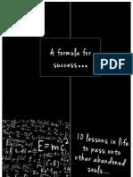 Formula for Success Blog