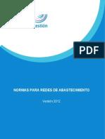 Normas Redes Abastecimiento 2012 CYIIG