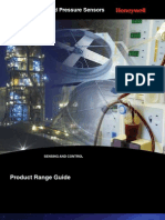 Honeywell Sensing Pressure Force Flow Range Guide