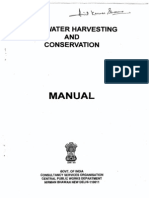 CPWD rain water harvesting guide