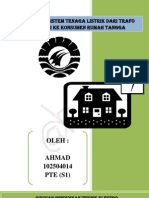 Peralatan Sistem Tenaga Listrik Dari Trafo Distribusi Ke Konsumen Rumah Tangga