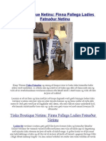 Tíska Boutique Netinu Finna Fallega Ladies Fatnaður Netinu