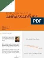 STAGE.ma - Programme Ambassadeurs