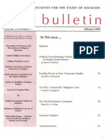 Bulletin of the Council of Societies for the Study of Religion