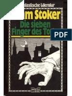 Stoker, Bram - Die Sieben Finger Des Todes