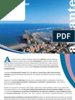 Guía turística oficial de Alicante- Suomi-2009