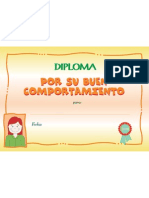 Diploma Comport Am