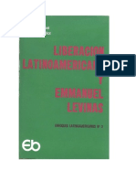 Dussel Enrique y Guillot Daniel E Liberacion Latinoamericana y Emmanuel Levinas 1975
