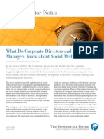 What Do Corporate Directors and Senior