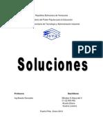Soluciones quimicas