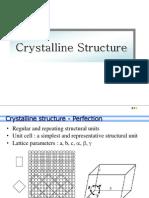 L-5 Crystalline Structure