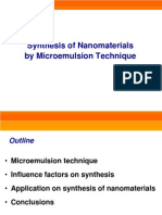 L-17 Synthesis Nano Microemulsion