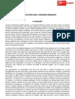 ANÉCDOTA Nª02-2013.CRUZEIRO AREQUIPA. LA MASACRE