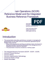SCOR - Reference Model and Integrated Business Reference Framework