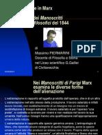 L'alienazione in Marx