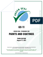 GS-11 Paints and Coatings Standard