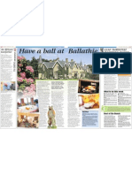 Ballathie House Hotel in the Newcastle Chronicle