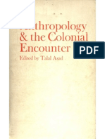 Anthropology and the Colonial Encounter