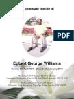 Mr Egbert George Williams