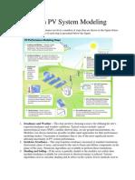 Tutorial on PV System Modeling