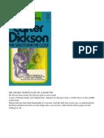 Carter Dickson the Skeleton in the Clock 1991