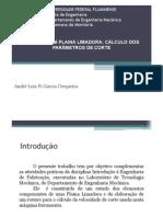 Cálculo da Velocidade de Corte da Plaina Limadora.pdf