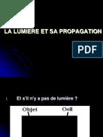 La Lumiere Et Sa Propagation