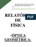 Relatório de fisica- Ótica- Revisado e Corrigido em 26.09.2010 (1)