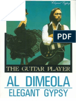 Al Di Meola Guitar School Elegant Gypsy Songbook