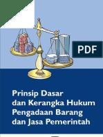 Prinsip Dasar Dan Kerangka Hukum Pbj