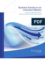 Business Schools on an Innovation Missionasasd