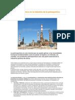 Riesgo químico en la industria de la petroquímica